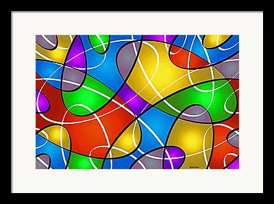 Symmetry Axis Framed Prints