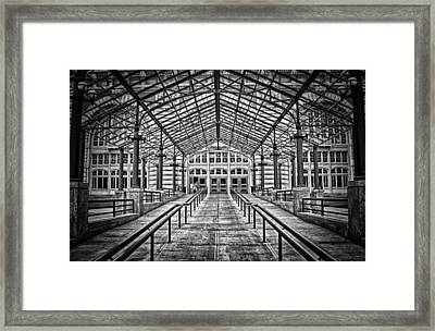 Ellis Island Entrance Framed Print