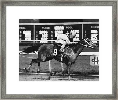 Ells Noble Horse Racing Vintage Framed Print by Retro Images Archive