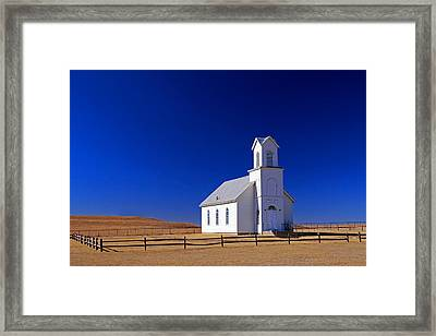Elmdale Church  Framed Print by Christopher McKenzie