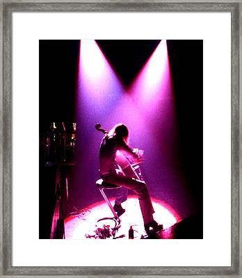 Elo _ Purple Haze Framed Print