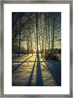 Elongated Framed Print by Matti Ollikainen