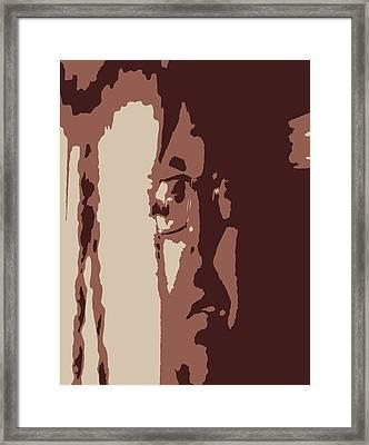 Elongated  Framed Print