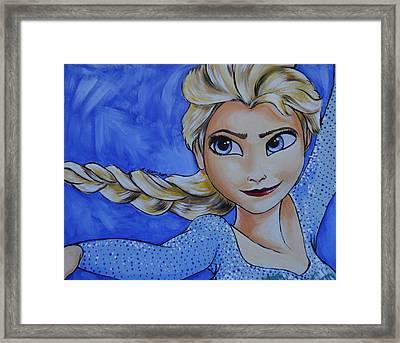 Elsa Framed Print by Lisa Leeman