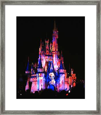 Elsa Queen Of The Castle Framed Print