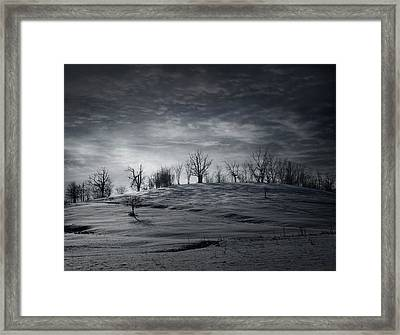 Elsewhere Framed Print by Akos Kozari