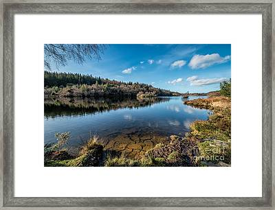 Elsi Reservoir Framed Print by Adrian Evans