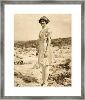 Elsie Parsons Framed Print by American Philosophical Society