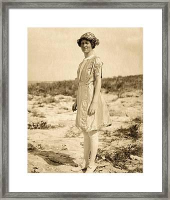 Elsie Parsons Framed Print