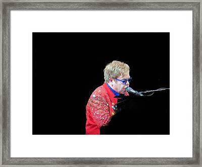 Elton Framed Print by Aaron Martens