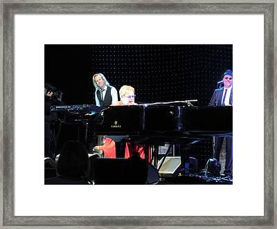 Elton Being Elton Framed Print by Aaron Martens