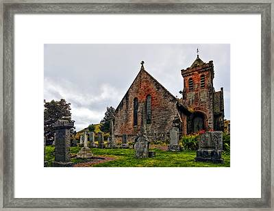 Elvanfoot Parish Church Framed Print by Marcia Colelli