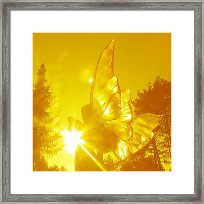 Elve Of Light Framed Print