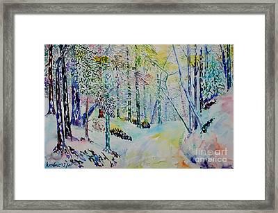 Elves Way Framed Print by Alfred Motzer