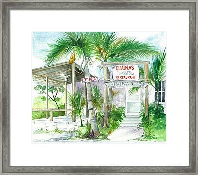 Elvinas Eleuthera Bahamas Framed Print