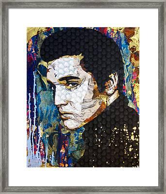 Elvis Framed Print by Bobby Zeik