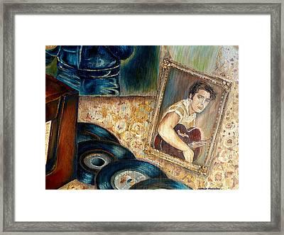 Elvis Country Boy Framed Print by Carole Spandau