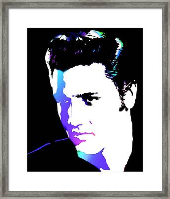 Elvis Framed Print by Cindy Edwards