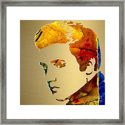 Elvis Gold Series Framed Print