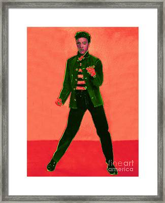 Elvis Is In The House 20130215m40 Framed Print by Wingsdomain Art and Photography