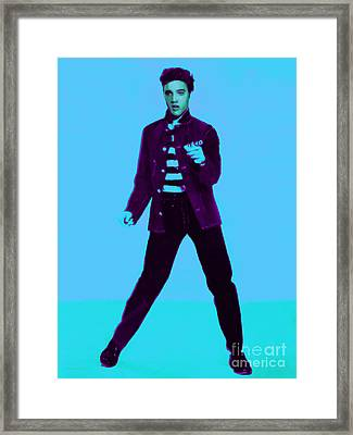 Elvis Is In The House 20130215p148 Framed Print by Wingsdomain Art and Photography