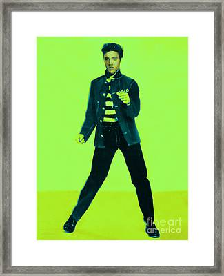 Elvis Is In The House 20130215p42 Framed Print by Wingsdomain Art and Photography
