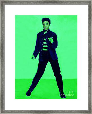 Elvis Is In The House 20130215p91 Framed Print by Wingsdomain Art and Photography