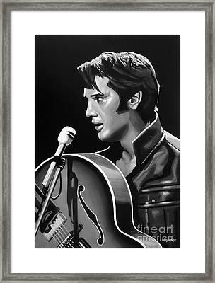 Elvis Presley 3 Framed Print