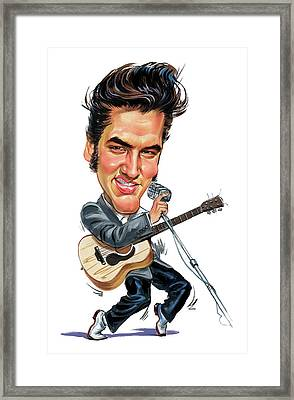 Elvis Presley Framed Print by Art