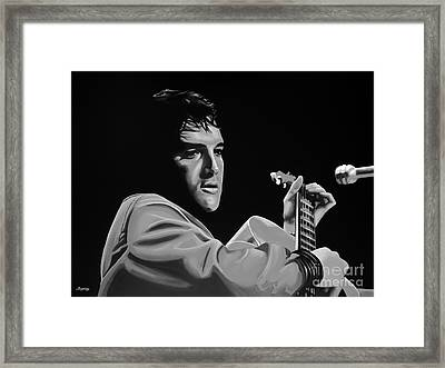 Elvis Presley Framed Print by Meijering Manupix