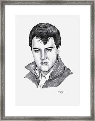 Elvis Presley Framed Print by Patricia Hiltz