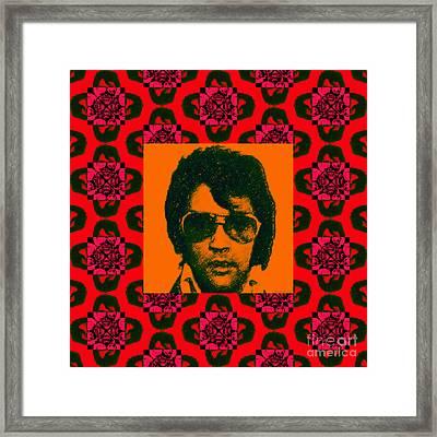 Elvis Presley Window M35 Framed Print
