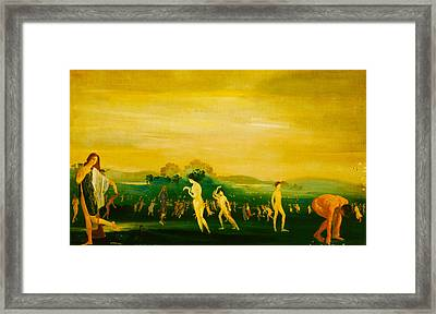 Elysian Fields Framed Print by Arthur B Davies