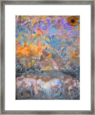Elysion Fields Framed Print by Darryl  Kravitz