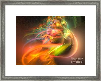 Elysium Framed Print by Sipo Liimatainen