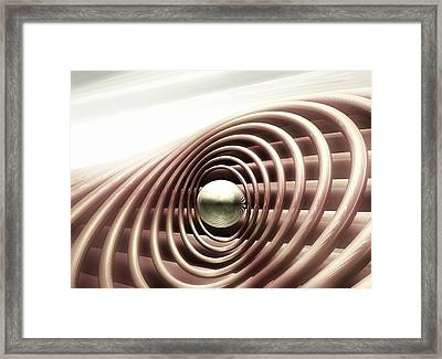 Framed Print featuring the digital art Emanate by John Alexander