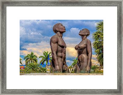 Emancipate Framed Print by Lechmoore Simms