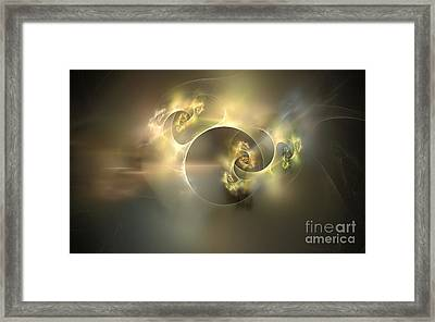 Emani Equals Peace Framed Print by Peter R Nicholls