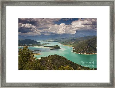 Embalse De Mediano 1 Framed Print by Michael David Murphy