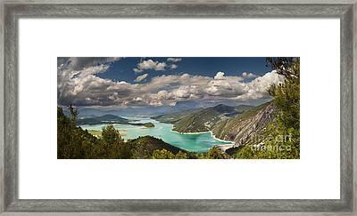 Embalse De Mediano 2 Framed Print by Michael David Murphy