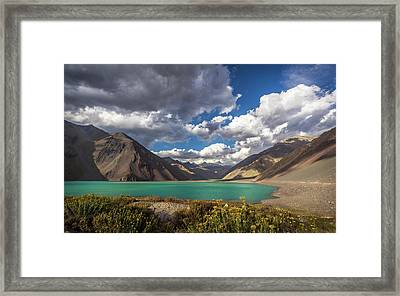 Embalse El Yeso Framed Print by Marcelo Freire Photography
