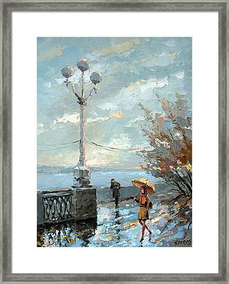 Embankment Framed Print by Dmitry Spiros