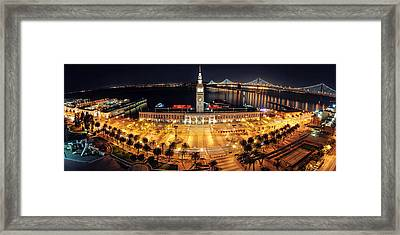 Embarcadero Framed Print