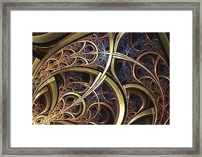 Embellishments Framed Print by Anastasiya Malakhova