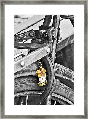 Emblem Of India Framed Print