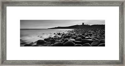 Embleton Bay With Dunstanburgh Castle Framed Print by Ian Cumming