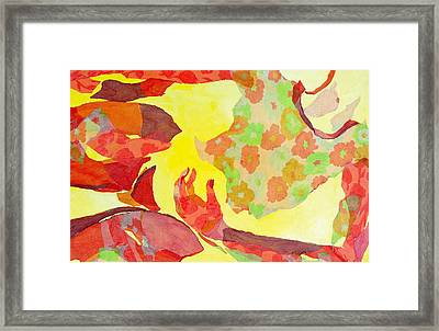 Embodied Framed Print by Diane Fine