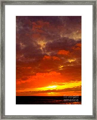 Embrace Framed Print by Q's House of Art ArtandFinePhotography