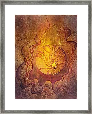 Embrace Framed Print by Ellen Starr