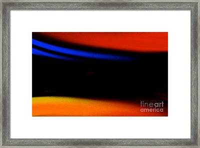 Embrace The Darkness Framed Print